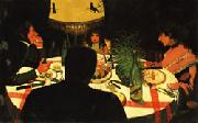 Felix Vallotton Dinner oil painting