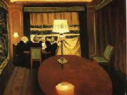 Felix Vallotton Poker oil painting