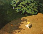 Felix Vallotton The ball oil painting
