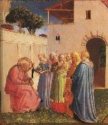 Fra Angelico The Naming of John the Baptist oil painting