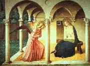 Fra Angelico The Annunciation oil painting