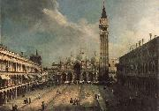 Frank Buscher Piazza San Marco ghj oil painting