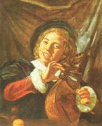 Frans Hals Boy with a Lute oil painting