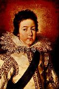 Frans Pourbus Louis XIII as the Dauphin oil painting