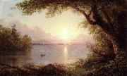 Frederic Edwin Church Landscape in the Adirondacks oil painting reproduction