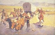 Frederick Remington The Emigrants oil painting reproduction