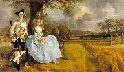 GAINSBOROUGH, Thomas Mr and Mrs Andrews dg oil painting