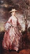 GAINSBOROUGH, Thomas Mary, Countess of Howe sd oil painting