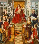 GALLEGO, Fernando Madonna of the Catholic Kings sdg oil painting