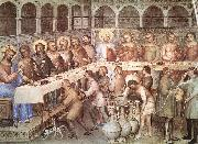 GIUSTO de  Menabuoi Marriage at Cana sgh oil painting