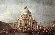 GUARDI, Francesco The Doge at the Basilica of La Salute  gd oil painting reproduction