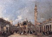 GUARDI, Francesco The Feast of the Ascension fdh oil painting