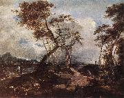 GUARDI, Francesco Landscape sdg oil painting