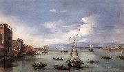 GUARDI, Francesco The Lagoon from the Fondamenta Nuove serg oil painting