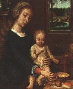 Gerard David The Madonna of the Milk Soup oil painting