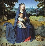 Gerard David The Rest on the Flight into Egypt oil painting