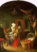Gerrit Dou The Young Mother oil painting