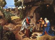 Giorgione The Adoration of the Shepherds oil painting