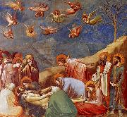 Giotto The Lamentation oil painting reproduction