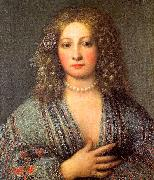 Girolamo Forabosco Portrait of a Courtesan oil painting