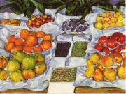 Gustave Caillebotte Fruit Displayed on a Stand oil painting