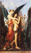 Gustave Moreau Hesiod and the Muse oil painting