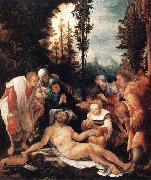 HUBER, Wolf The Lamentation of Christ sg oil painting reproduction