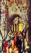 Hans Memling The Last Judgement Triptych oil painting reproduction
