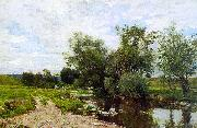 Hugh Bolton Jones On the Green River oil painting