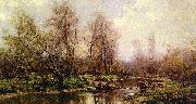 Hugh Bolton Jones River Landscape oil painting