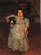Ignacio Zuloaga The Dwarf Dona Mercedes oil painting