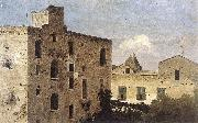 JONES, Thomas Houses in Naples sf oil painting reproduction