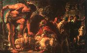 Jacob Jordaens Odysseus oil painting