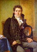 Jacques-Louis  David Portrait of the Count de Turenne oil painting