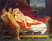 Jacques-Louis  David Cupid and Psyche1 oil painting