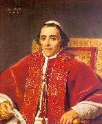 Jacques-Louis  David Portrait of Pope Pius VII_2 oil painting