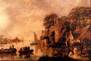 Jan Miense Molenaer Landscape oil painting reproduction
