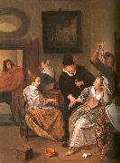 Jan Steen The Doctor's Visit oil painting