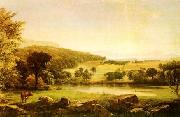 Jasper Cropsey Serenity oil painting