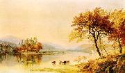 Jasper Cropsey River Isle oil painting
