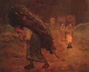 Jean Francois Millet Faggot Carriers oil painting reproduction