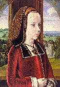 Jean Hey Portrait of Margaret of Austria oil painting