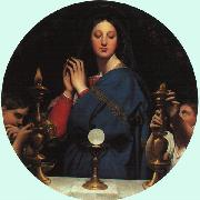 Jean-Auguste Dominique Ingres The Virgin with the Host oil painting