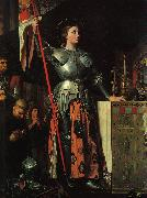 Jean-Auguste Dominique Ingres Joan of Arc at the Coronation of Charles VII oil painting