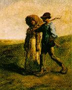 Jean-Franc Millet The Walk to Work oil painting