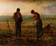 Jean-Franc Millet The Angelus oil painting