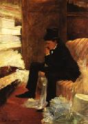 Jean-Louis Forain The Widower oil painting