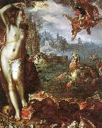 Joachim Wtewael Perseus and Andromeda oil painting reproduction