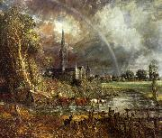 John Constable Salisbury Cathedral from the Meadows2 oil painting