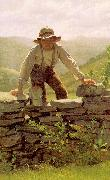 John George Brown The Berry Boy oil painting reproduction